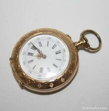 RE162 POCKET WATCH J. LE COULTRE. 18K GOLD. WORKS. EARLY 20th CENTURY