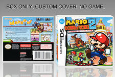NINTENDO DS : MARIO VS DONKEY KONG 2. ENGLISH. COVER + ORIGINAL BOX. (NO GAME).