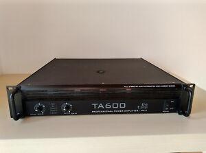 T Amp TA 600 Endstufe / PA Verstärker / Amplifier / DJ / 19 Zoll