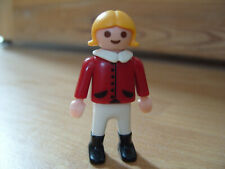 Playmobil Spare Part -  Girl Figure from 4334 Micro World Magnetic Farm