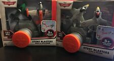 Disney Planes Cars Stunt Blasters - Set of 2 - Dusty & Ripslinger   Echo & Bravo