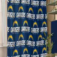 San Diego Chargers NFL Fabric Shower Curtain (72x72) FREE US SHIPPING