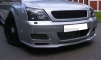 Front Black Debadged Grill For Opel Vectra C PREFACELIFT Badgless No LOGO