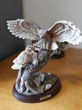 More details for bradford exchange figure of owls titled