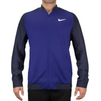 SZ LARGE🔥 Nike Court Premier RF Men's Tennis Jacket Royal Blue 728990-455 $120