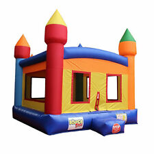 Castle Bouncer Inflatable Moonwalk with Blower