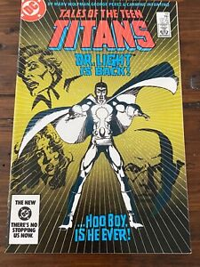 DC TALES OF THE TEEN TITANS #49 SIGNED by MARV WOLFMAN & VERIFIED BY HIM!