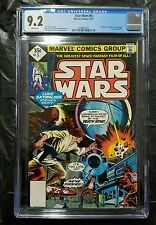 STAR WARS 5 1977 35 CENT REPRINT CGC 9.2 LUKE VADER LEIA PART 5 OF A NEW HOPE