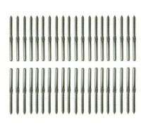 40 pcs Stainless Steel Wire Balustrade KIt 3.2mm 20 set- Lag Screw Term L & R