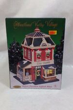 "Heartland Valley Village Deluxe Porcelain Lighted House - ""City Gazzette"""