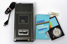 Solidex Model 829 Beta Video Rewinder Plus Beta Head Cleaning Cassette - Betacam