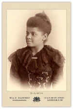 IDA B. WELLS Journalist Educator Vintage Photograph Cabinet Card CDV RP