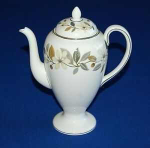 Wedgwood Beaconsfield Coffee Pot & Lid, 1.25 Pint Capacity. 1st Quality.