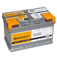 Autobatterie Continental 12V 70Ah 680A Starterbatterie Bosch Varta 70 71 72 74Ah
