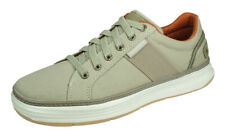 Skechers Moreno Ridson Mens Casual Trainers Comfortable Everyday Shoes - Beige