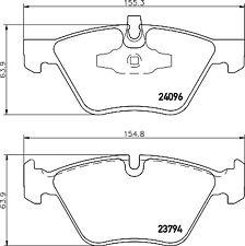 Mintex Front Brake Pad Set MDB2699  - BRAND NEW - GENUINE - 5 YEAR WARRANTY