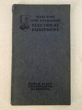 1930 Power Plant Engineering Handbook - Electrical Equipment