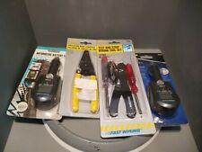 Variety Lot of 4 Calterm Vehicle Monitor, Wire Stripper & Tool Set