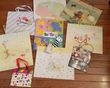Lot of 30+ Gift Bags - Assortment of sizes for Birthday Baby Holiday General