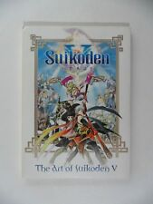 The Art of Suikoden V - Art Book and Soundtrack CD Game Collectibles