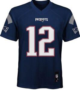 Tom Brady 2012 New England Patriots Jersey Navy Youth Size L 14/16