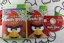XBOX 360 ANGRY BIRDS TRILOGY MUY BUEN ESTADO PAL ESPAÑA