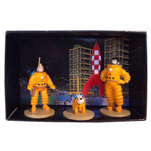 Tim & Struppi Tintin Tim Struppi Haddock Astronauts Set 29255 Moulinsart (L)