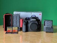Canon Eos 5D Mark Iv + Canon Battery + 6 Cf Cards + Sd/Cf Card Case, Set!
