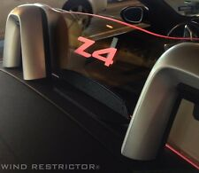 BMW Z4 E89 Custom Etched and Lighted WindRestrictor brand wind screen