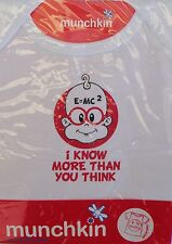 I Know More Than You Think - Baby T-Shirt - 6 - 12 mths  *New*
