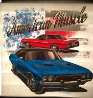 Ultra Rare Vintage Dodge Ram T-shirt Heat Transfer  NOS
