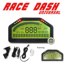 OBD2 Bluetooth Dash Race Display Car Dashboard LCD Screen Digital Rally Gauge