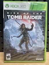 New listing Rise of the Tomb Raider (Microsoft Xbox 360, 2015) Brand New Factory Sealed