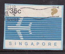 Singapore 35c postal stationary Cutout VFU VFG