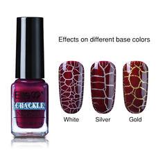 Elite99 Soak Off Crackle Nail Polish Gel 7ML UV LED Pedicure Decor Varnish 7811