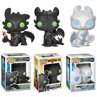 FUNKO POP How to Train Your Dragon TOOTHLESS 686# Light Fury 687# FigureToys UK