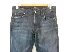 7 for all Mankind Size 27 dark denim designer Jeans