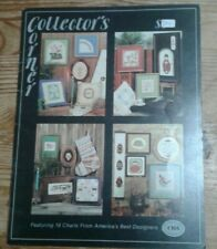 Collector's Corner Charted Designers of America Cross Stitch Patterns 1981