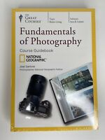 Fundamentals of Photography 4 DVD & Guidebook Great Courses Nat. Geo. 2012 NEW