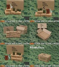 "ACE Toys 1/6 Scale C-Rations Set Vietnam US Army for 12"" Action Figures ACE13021"