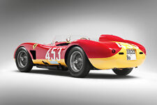 VINTAGE 1957 FERRARI 500 TRC RACE CAR POSTER PRINT STYLE C 24x36 HIGH RES