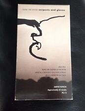 """Over The Rhine """"Serpents And Gloves"""" VHS / Video Limited Edition Signed"""