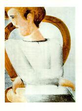 Nuevo Oskar Schlemmer, presión de luz son impresiones artísticas bütten blanco joven rareza