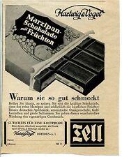 Tell Schokolade-Hartwig & Vogel--Gutschein--Werbung von 1932-