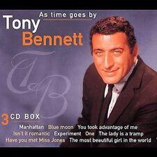 As Time Goes By [Dutch Box Set] Tony Bennett (3 CDs) & bonus live rarities disc!