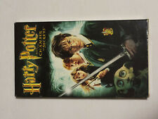 HARRY POTTER AND THE CHAMBER OF SECRETS - VHS 2002 - Daniel Radcliffe JK Rowling