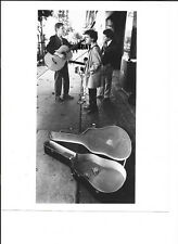 Violent Femmes 1983 Street Busking Original Authentic Photo Paul Natkin Dated
