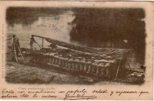 Paraguay - Pre-1906 - Chata conduciendo Yerba used postcard