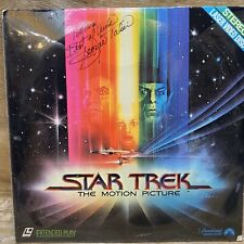 Star Trek The Motion Picture Extended Play Laserdisc Signed By George Takei
