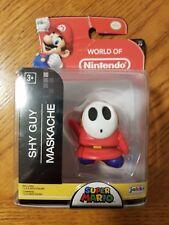 Jakks Pacific World of Nintendo Series Super Mario Shy Guy 2-2 Figure New!